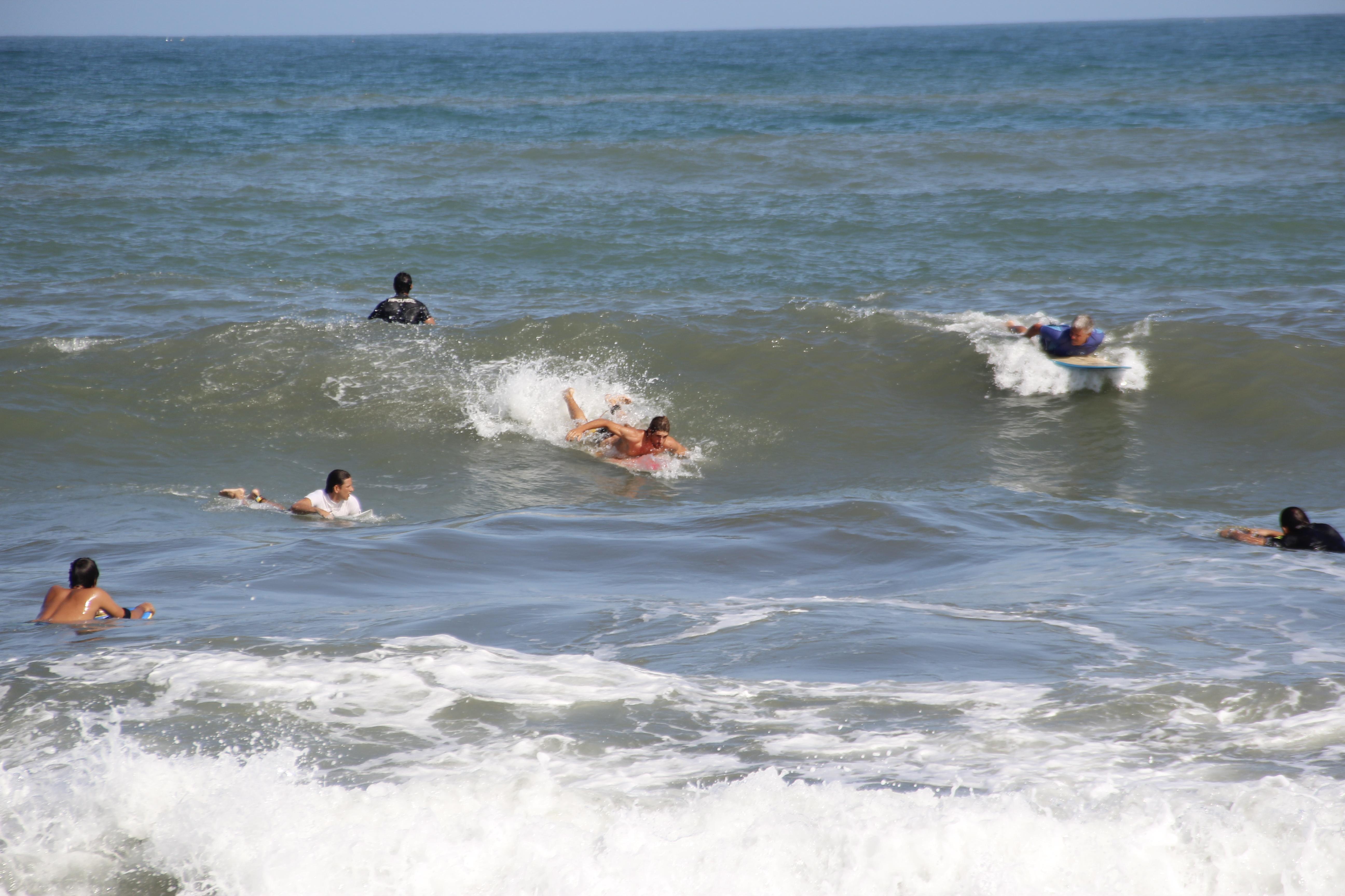 surf en playa boca grande