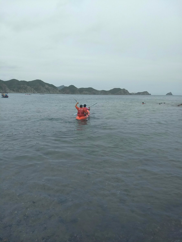 paseo en kayak playa grande