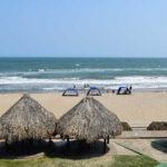 Playa Salgar, una playa llena de historia en Puerto Salgar