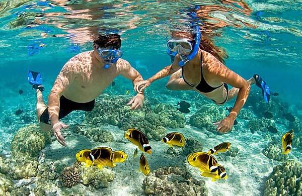 snorkel en colombia